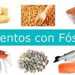 alimentos con fosforo