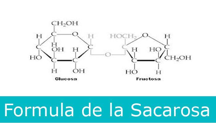 formula sacarosa