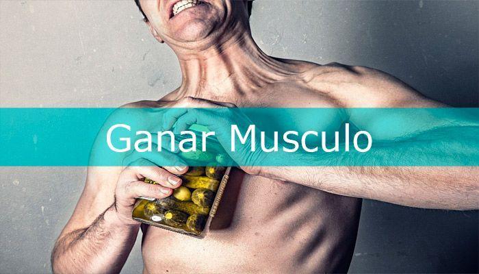 ganar musculo con proteínas