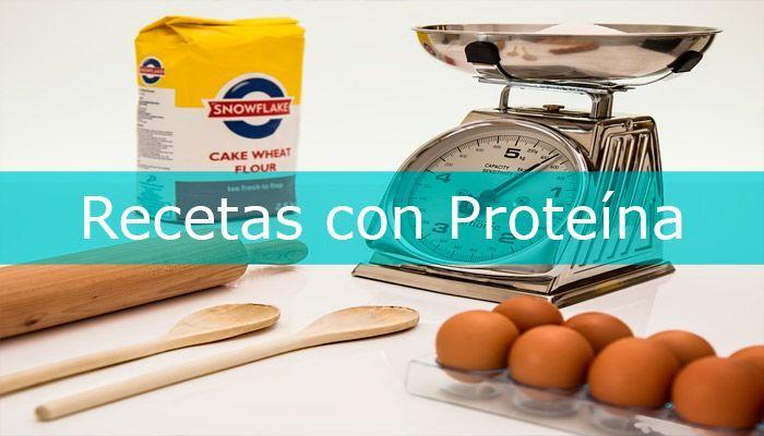recetas con proteinas