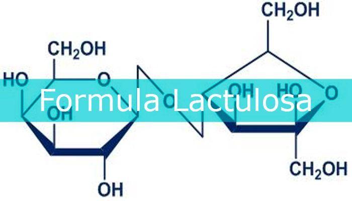 formula lactulosa