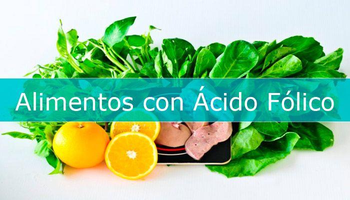 alimentos ricos en acido folico b9